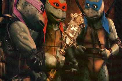 Critique du film les tortues ninja 3 analyse lestortuesninja3 sur strange movies - Les 4 tortues ninja ...